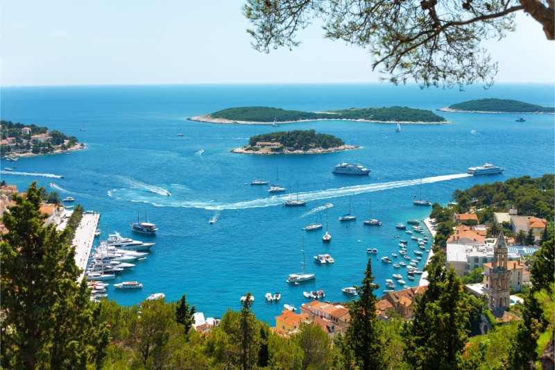 Hvar - boarding port