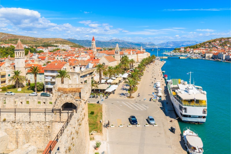 Trogir - boarding port